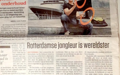 Juggler from Rotterdam is a Super Star