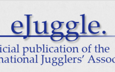 eJuggle, Niels Duinker interviewed for the official publication from the International Jugglers Association