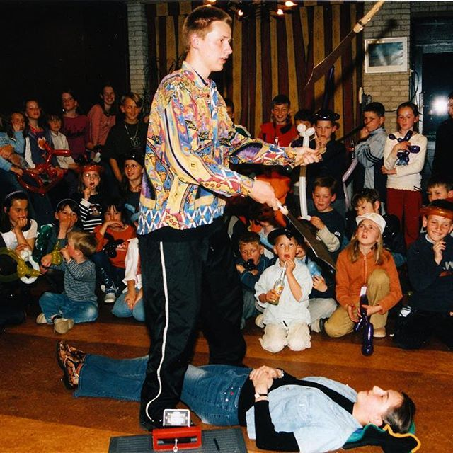 Performing for PaxChristi back in 1999